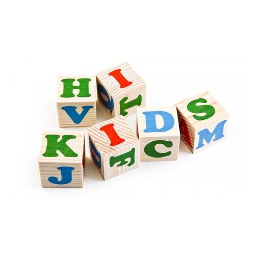 Купить Кубики Томик Алфавит английский 1111-2, Детские кубики