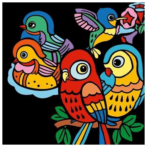 Фото - Набор для творчества Djeco Птенцы (09099) набор для творчества djeco романтичные цветы 07951