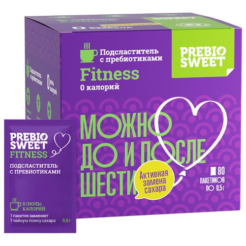 PREBIO SWEET подсластитель Fitness с пребиотиками (саше) порошок 40 г 80 шт.