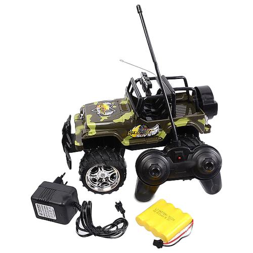 Купить Внедорожник Zheng Chen Super SUVs (SL8632) 1:18 зеленый камуфляж, Радиоуправляемые игрушки