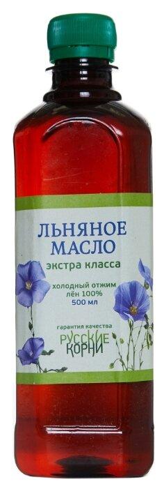 Русские корни Масло льняное