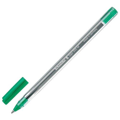 Купить Schneider Ручка шариковая Tops 505 M, 1.0 мм (150604), зеленый цвет чернил, Ручки