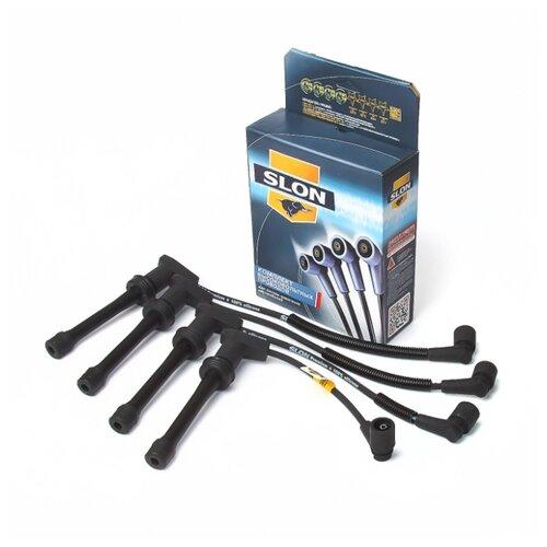 Комплект высоковольтных проводов системы зажигания SLON 2112-3707080