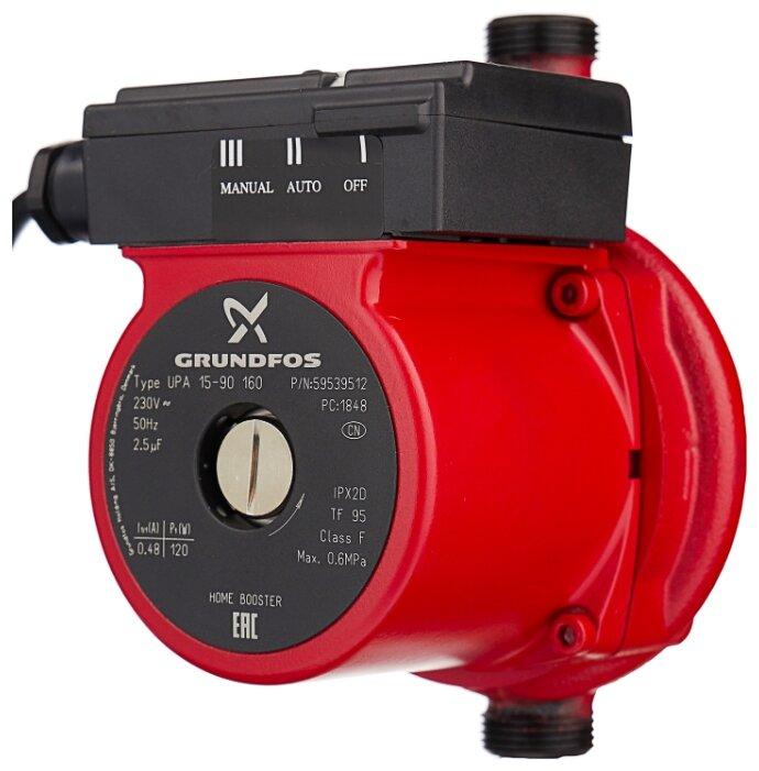 Циркуляционный насос Grundfos UPA 15-90 (120 Вт)
