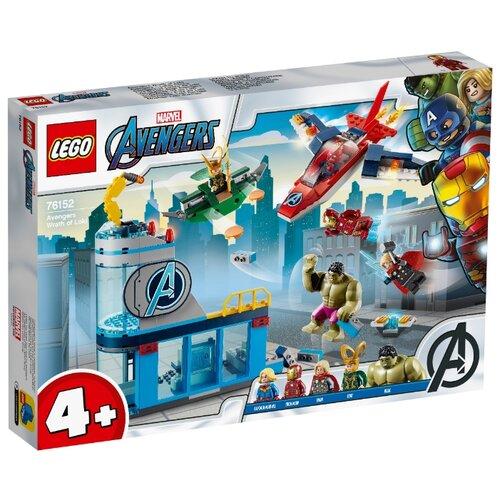 Конструктор LEGO Marvel Super Heroes 76152 Мстители: гнев Локи конструктор lno gift series 018 локи