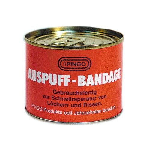 Универсальный герметик для ремонта автомобиля PINGO Auspuff Bandage 00158-0 белый герметик для ремонта автомобиля набор для ремонта автомобиля liqui moly auspuff bandage 3344 бесцветный