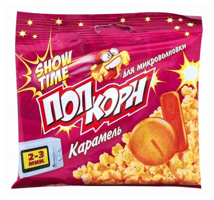 Попкорн ShowTime Карамель в зернах, 80 г