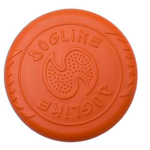 Фрисби для собак Doglike Летающая тарелка большая оранжевый