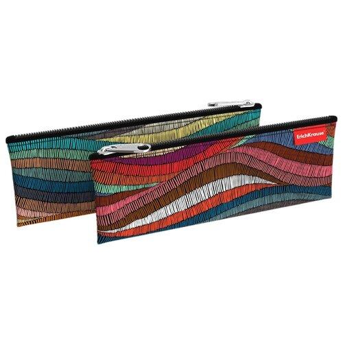 Купить ErichKrause Пенал-конверт Mosaic (49036) коричневый/красный/синий, Пеналы