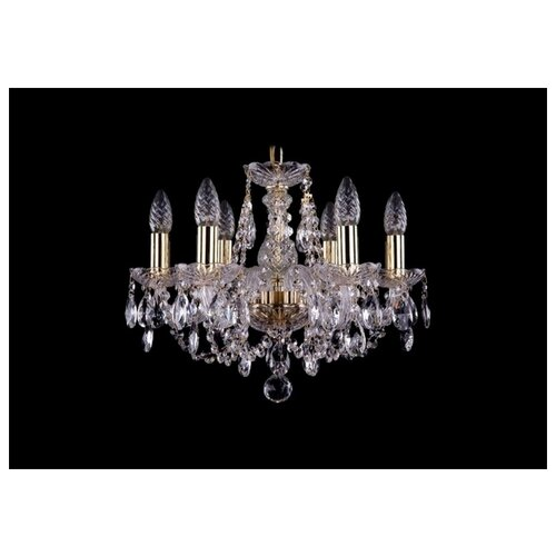 Фото - Bohemia Ivele Crystal 1406 1406/6/141/G люстра bohemia ivele crystal 1406 1406 8 141 g balls e14 320 вт
