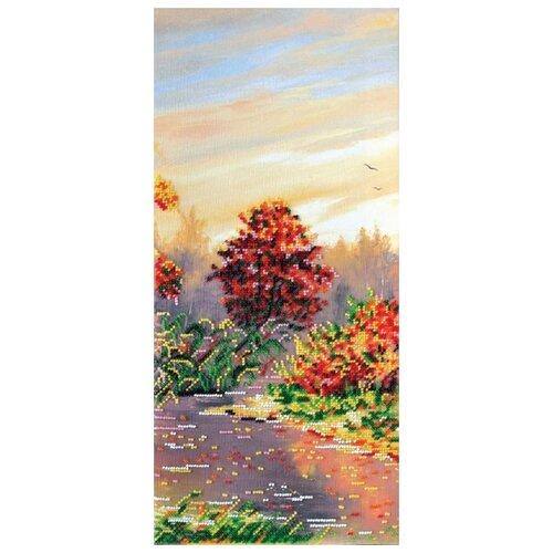 ABRIS ART Набор для вышивания бисером Осенние зарисовки-2 20 х 43 см (AB-413)
