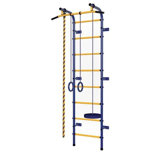 Купить Шведская стенка Пионер С1Р, синий/желтый, Игровые и спортивные комплексы и горки