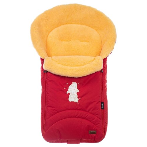 Конверт-мешок Nuovita Tundra Pesco меховой 90 см красный конверт мешок nuovita tundra pesco меховой 90 см бордовый