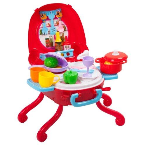 Купить Игровой набор BONDIBON ВВ3697 розовый, Детские кухни и бытовая техника