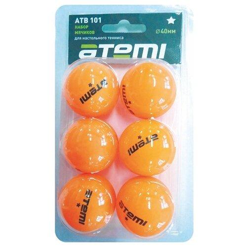 Набор для настольного тенниса ATEMI 1* оранжевый по цене 115