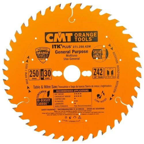 Пильный диск CMT 271.250.42M 250х30 мм диск пильный твердосплавный cmt 226 060 10m