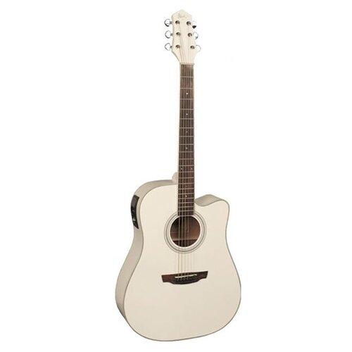 цена на Электроакустическая гитара Flight AD-200 CEQ WH