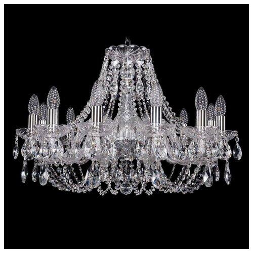 Люстра Bohemia Ivele Crystal 1406 1406/12/240/Ni, E14, 480 Вт люстра bohemia ivele crystal 1771 1771 12 220 b nb e14 480 вт