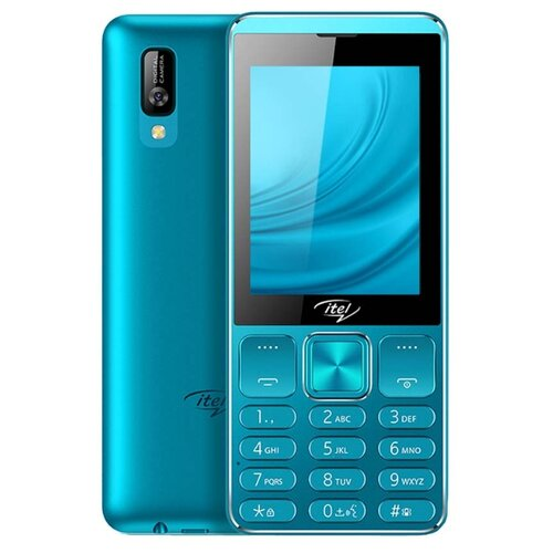 Телефон Itel it6320 голубой фото