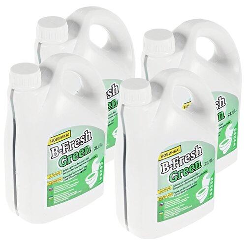 Thetford Туалетная жидкость B-Fresh Green, 4шт 2 л 4 шт.