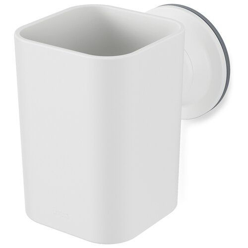 Фото - Стакан для зубных щеток Flex белый стакан для зубных щеток touch 10х10х8 см серый 023271 918 umbra