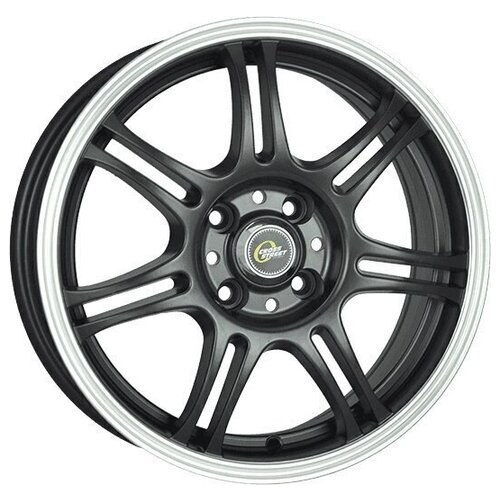 Фото - Колесный диск Cross Street Y4601 6.5x16/4x100 D60.1 ET50 MBF колесный диск cross street y279 6 5x16 4x100 d60 1 et50 bkf