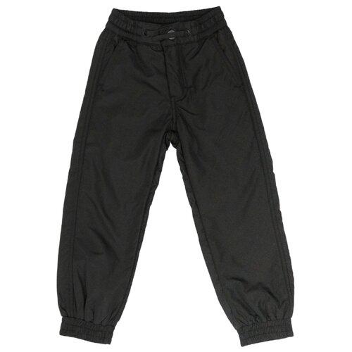 Купить Брюки Button Blue 220BBBMC6403 размер 122, черный, Полукомбинезоны и брюки