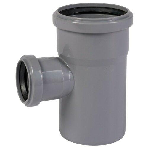 Тройник для внутренней канализации Политрон 201587 Ду 110x50мм 87/90˚ полипропилен
