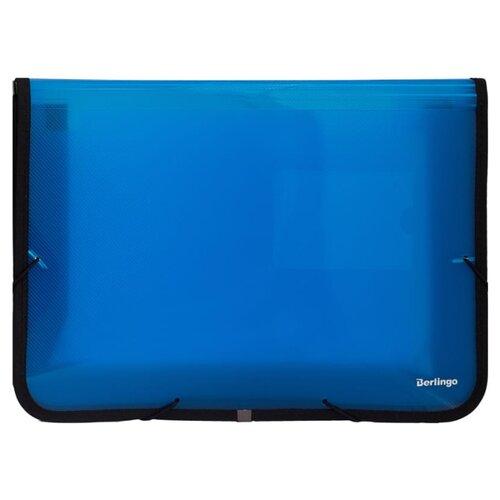 Купить Berlingo Папка на резинке А4, пластик, 600 мкм синий, Файлы и папки