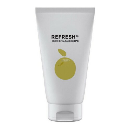 REFRESH скраб для лица Biomineral Face Scrab на основе натуральной янтарной пудры 100 мл refresh refresh celluvisc lubricant eye drops single use containers 30 ct pack of 2