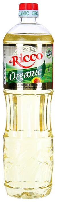 Mr.Ricco Масло подсолнечное Organic рафинированное дезодорированное