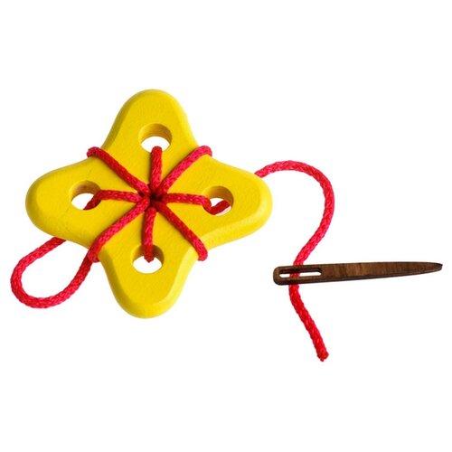 Купить Шнуровка Цветок №3 , 3 детали, Томик, Шнуровки
