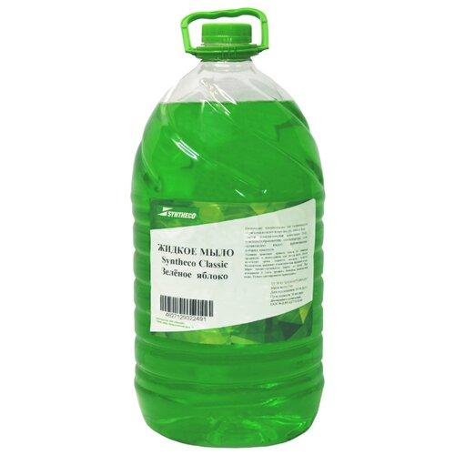Мыло жидкое Syntheco Classic Зеленое яблоко, 5 кг мыло жидкое syntheco без