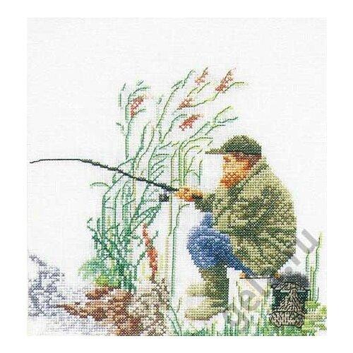 Купить Набор для вышивания Лов рыбы, канва лён 36 ct, Thea Gouverneur, Наборы для вышивания