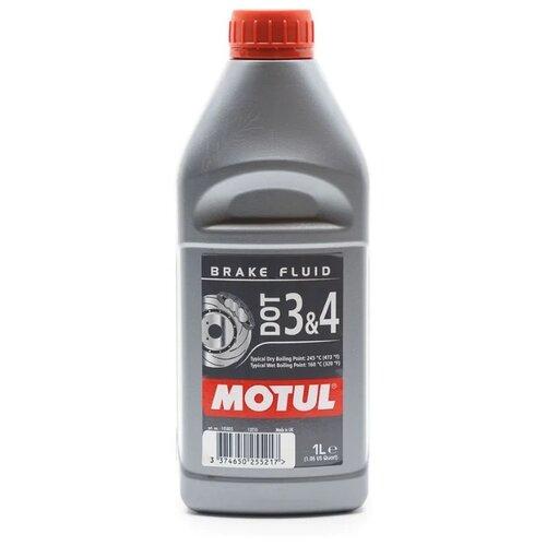Тормозная жидкость Motul DOT 3&4 1 л