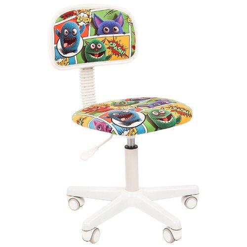Компьютерное кресло Chairman Kids 101 детское, обивка: текстиль, цвет: монстры компьютерное кресло chairman kids 106 детское обивка текстиль цвет автобусы