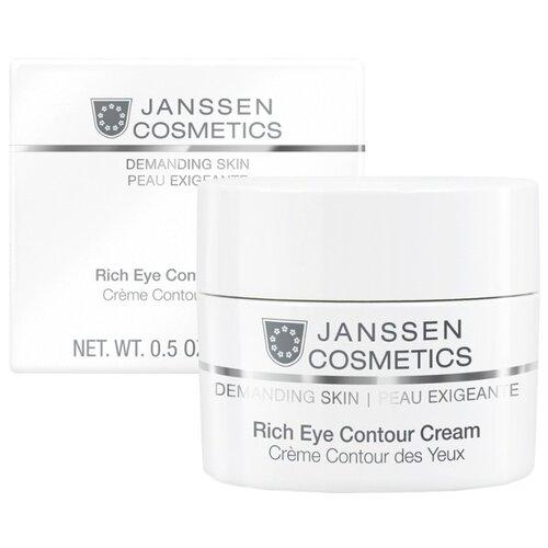 Фото - Janssen Cosmetics Питательный крем для кожи вокруг глаз Rich Eye Contour Cream, 15 мл janssen cosmetics крем rich eye contour cream питательный для кожи вокруг глаз 30 мл