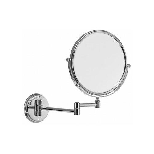 Зеркало косметическое настенное Accoona А223-6 хромированный