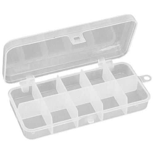 Коробка для приманок для рыбалки MIKADO ABM 009 13.2х6.2х2.5 см бесцветный
