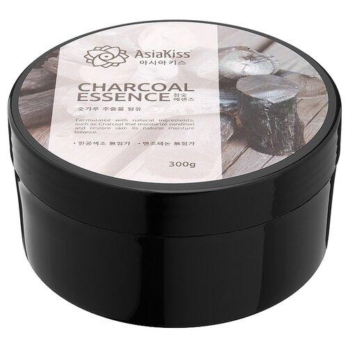 Гель для тела Asiakiss Charcoal Essence Soothing Gel, 300 г