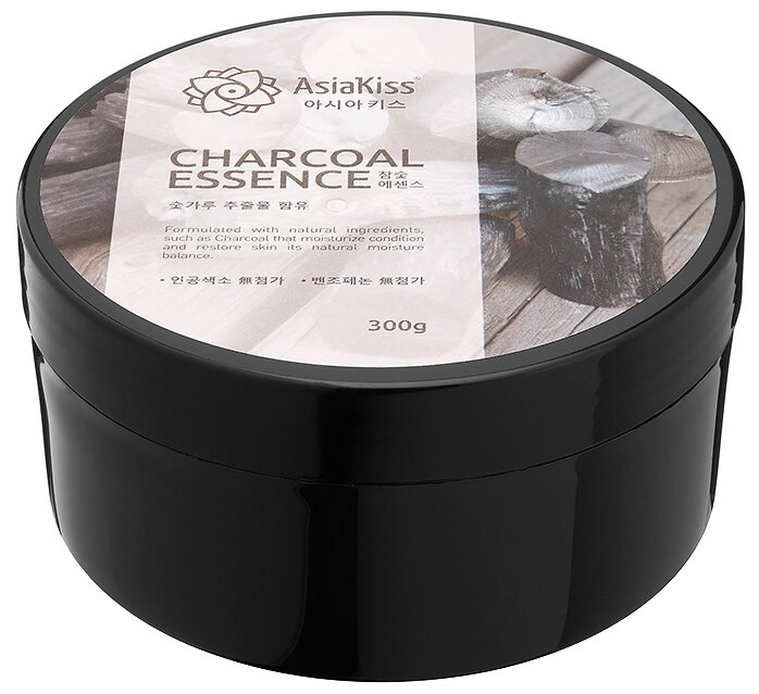 Гель для тела Asiakiss Charcoal Essence Soothing