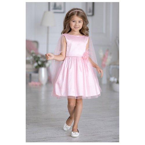 Купить Платье ALOLIKA размер 134-68-60, розовый, Платья и сарафаны