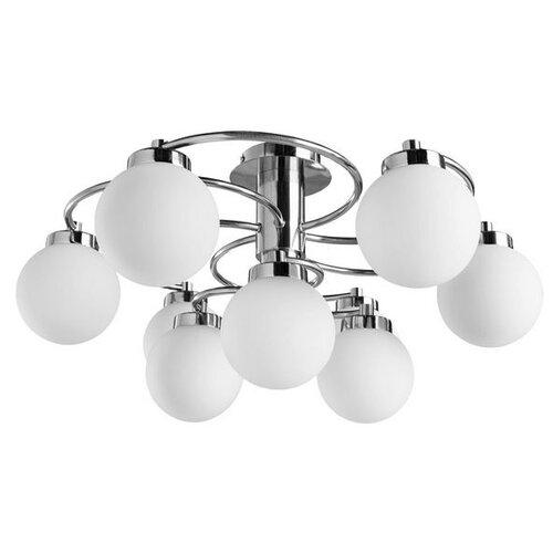 Фото - Люстра Arte Lamp Cloud A8170PL-9SS, E14, 360 Вт люстра artelamp a8170pl 9ss