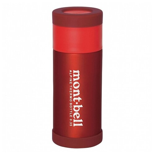 MontBell термос Alpine Thermo Bottle 0.35L RD