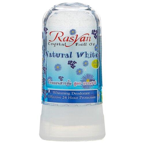 Дезодорант-кристалл Rasyan Natural White, 80 г дезодорант кристалл laquale купить в москве