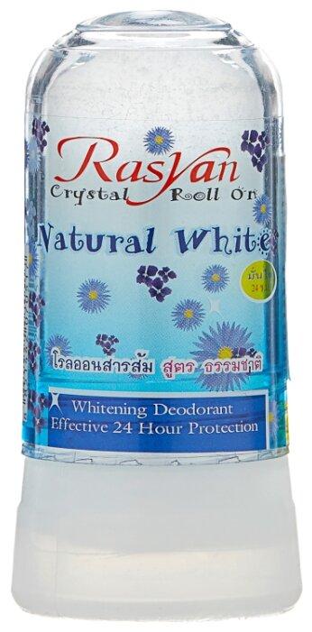Дезодорант-кристалл Rasyan Natural White, 80 г