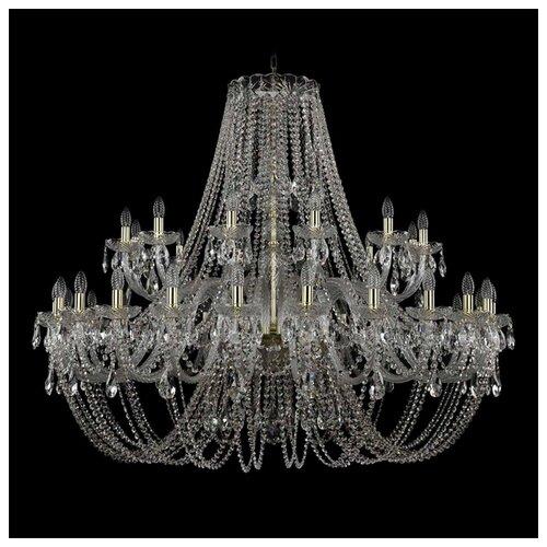 Люстра Bohemia Ivele Crystal 1406 1406/24+12/530/G, E14, 1440 Вт bohemia ivele crystal 1406 24 12 12 6 530 230 4d g
