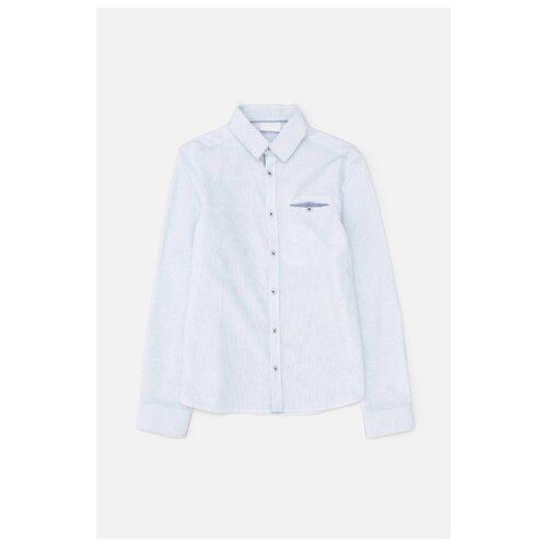 Купить Рубашка Acoola размер 122, голубой, Рубашки