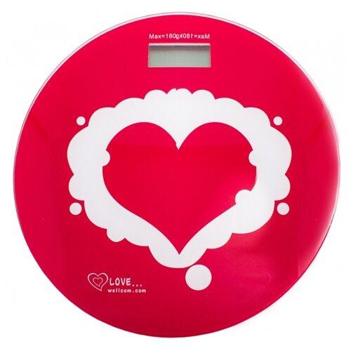 Весы электронные Эврика Сердце