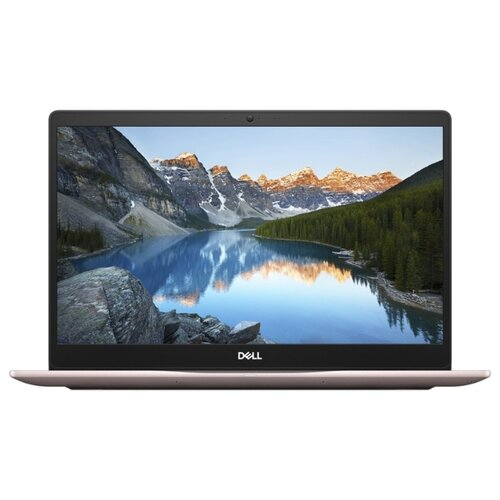 Ноутбук DELL INSPIRON 5370 (Intel Core i5 8250U 1600 MHz/13.3/1920x1080/4GB/256GB SSD/DVD нет/AMD Radeon 530/Wi-Fi/Bluetooth/Windows 10 Home) розовыйНоутбуки<br>